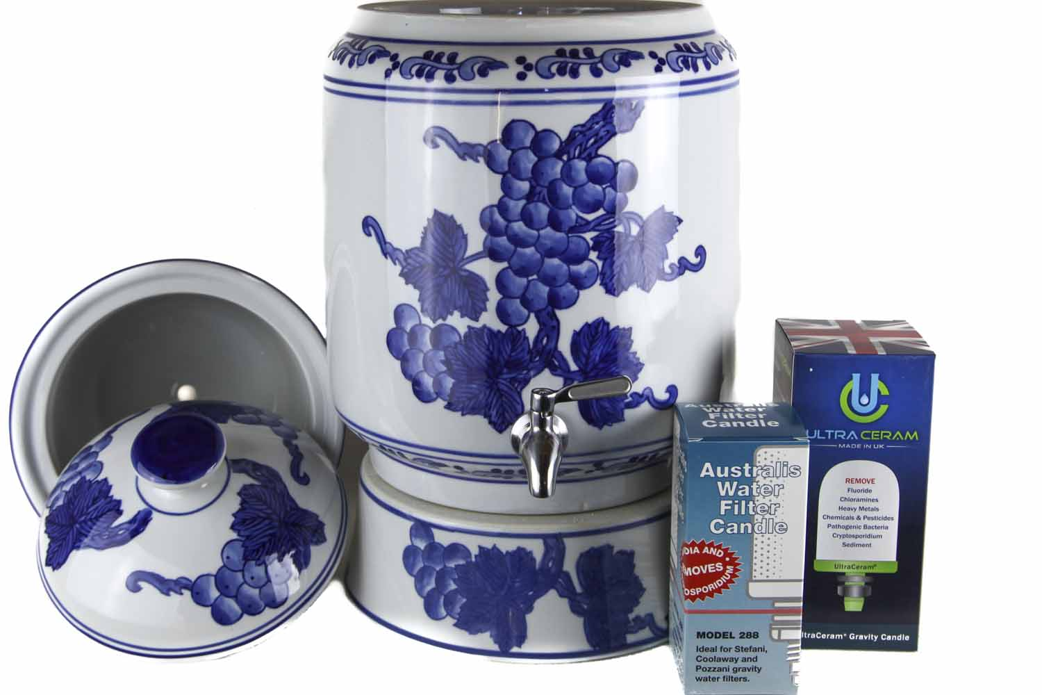Blue Grape Water Filter 8L