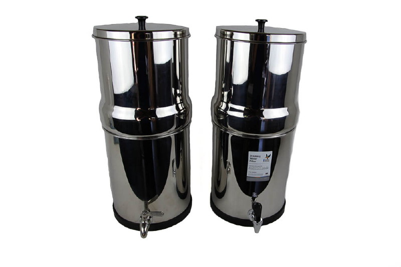 Berkey 16l 8 8 Stainless Water Purifier Berkey Black