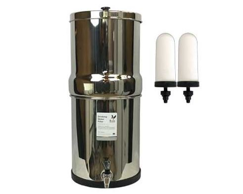 Stainless Water Purifier 16L -Doulton Filters (Postage Included)