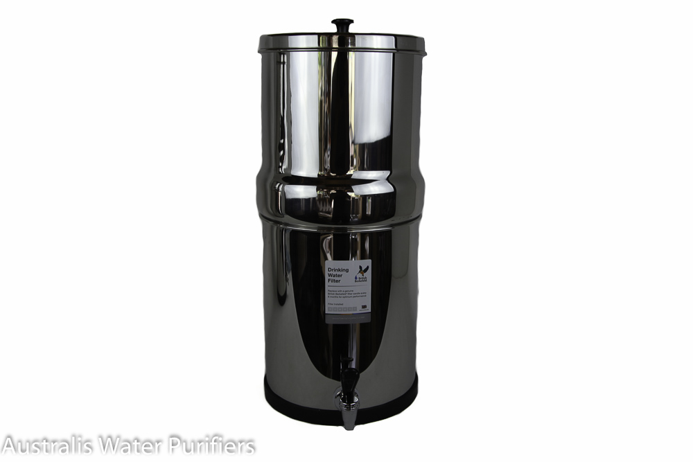 Berkey 16L Stainless Water Purifier - Doulton Ceramic Filters