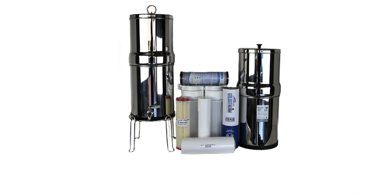 Stainless Steel & under Benchtop Water Filters