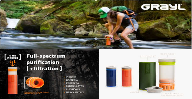 Grayl - Ultralight portable water filter
