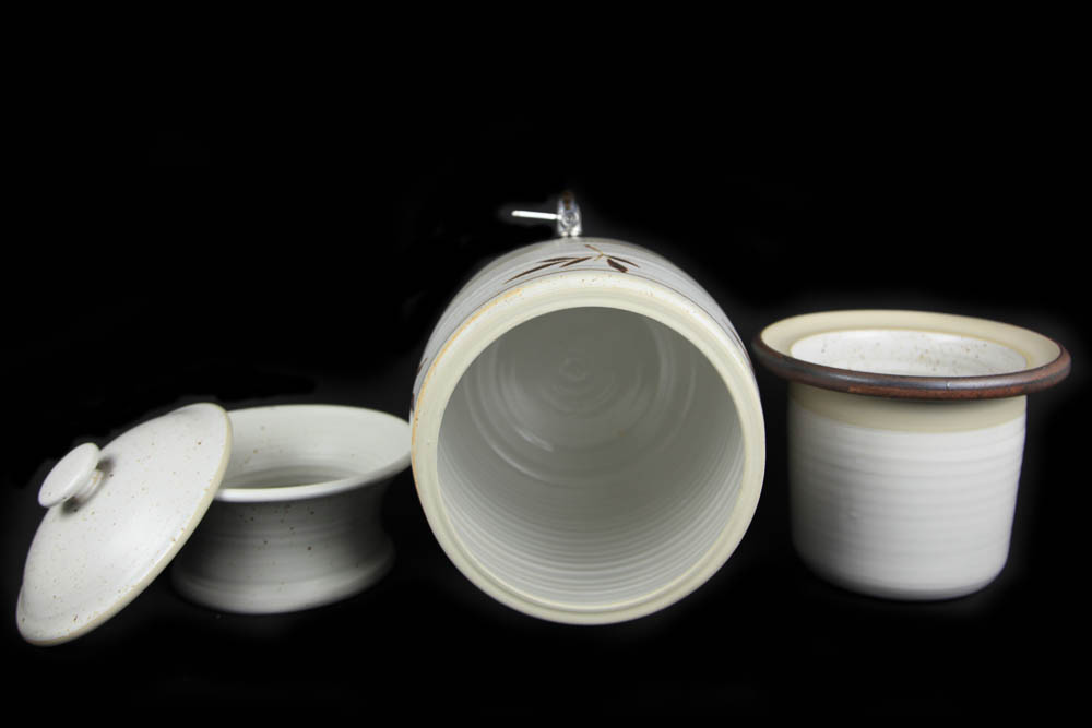 Billabong Stoneware Water Purifier Beige Bamboo Aust