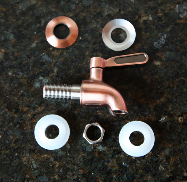 Bronze Stainless Steel Replacement Tap
