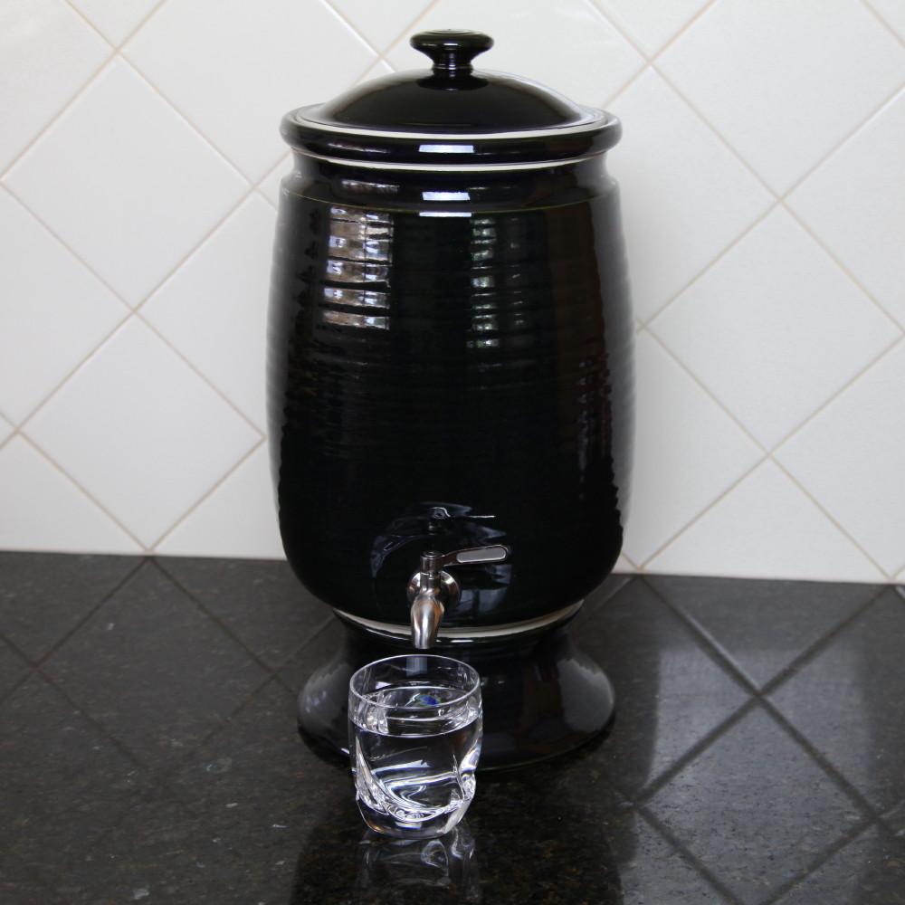 Benchtop Water Filter Billabong - Gloss Black