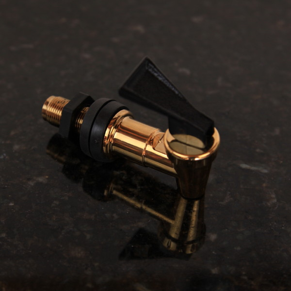 Gold Plated Water Purifier Tap (Australian Made) - Click Image to Close